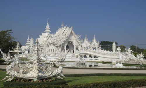 Zdjecie TAJLANDIA / Chiang Rai / Chiang Rai / White temple