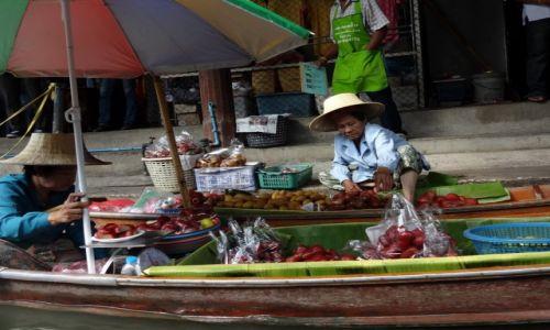 TAJLANDIA / Bangkok / Dumnoen Saduak / floting market