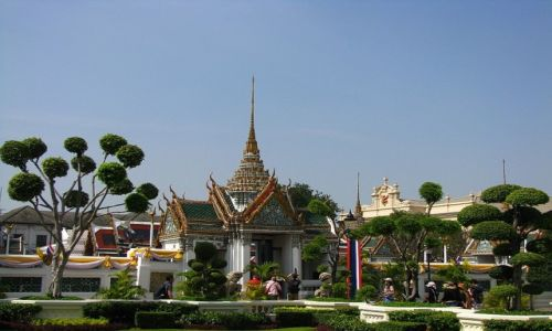 Zdjęcie TAJLANDIA / Bangkok / Bangkok / Pałac Królewski