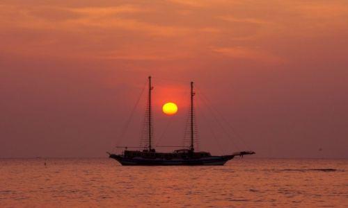 Zdjecie TAJLANDIA / Chonburi / Jomtien / Jomtien  - widok z plaży