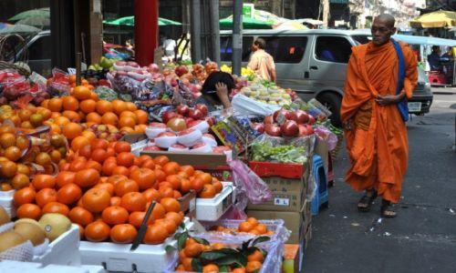 Zdjecie TAJLANDIA / Bangkok / dzielnica chińska / Na targu