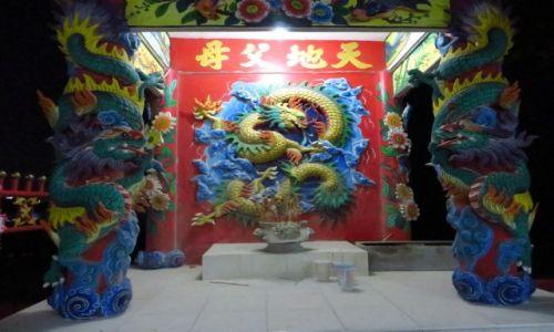 Zdjęcie TAJLANDIA / Zatoka Tajlandzka / Hua Hin / chińska pagoda