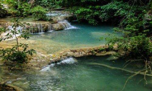 Zdjęcie TAJLANDIA / Tajlandia / Tajlandia / Wodospady Erawan (4)