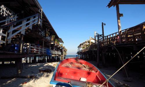 Zdjęcie TAJLANDIA / Zatoka Tajlandzka / Hua Hin / rybacka łódź