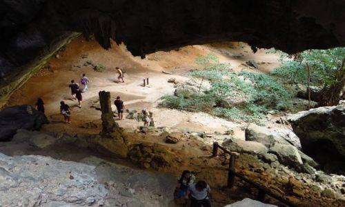 Zdjęcie TAJLANDIA / Zatoka Tajlandzka / P.N. Sam Roi Yod / jaskinia Prayanakorn