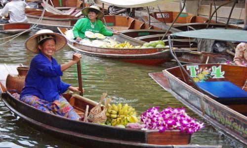 Zdjęcie TAJLANDIA / Ratchaburi / Damnoen Saduak / Targ wodny