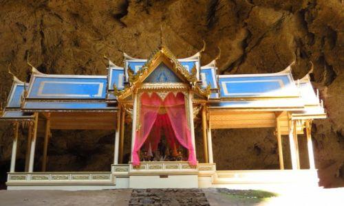 Zdjęcie TAJLANDIA / Zatoka Tajlandzka / Park Narodowy Sam Roi Yod / jaskinia Prayanakorn