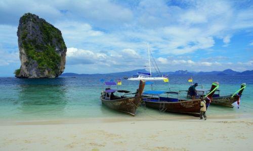 Zdjecie TAJLANDIA / południowa Tajlandia / Ko Poda / wyspa Ko Poda