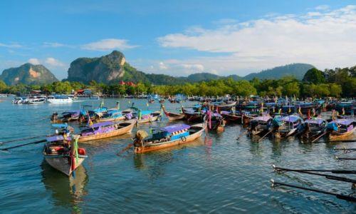 Zdjecie TAJLANDIA / okolice Krabi / okolice Krabi / błękitne wody Tajlandii