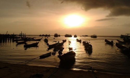 Zdjęcie TAJLANDIA / Koh Tao / Koh Tao / Zachód Słońca na Koh Tao