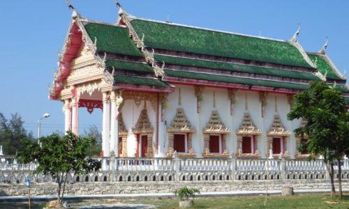 Zdjecie TAJLANDIA / Zatoka Tajlandzka / okolice Hua Hin / wiejska światynia