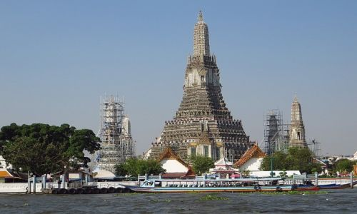 Zdjęcie TAJLANDIA / . / Bangkok / obrazki z Bangkoku
