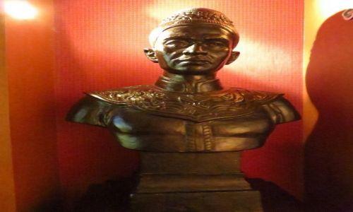 Zdjęcie TAJLANDIA / Bangkok / Muzeum Narodowe / popiersie króla U-Thonga