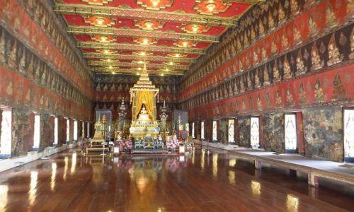 Zdjęcie TAJLANDIA / Bangkok / Muzeum Narodowe / Buddhaisawan Chapel