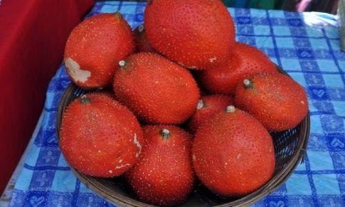 Zdjecie TAJLANDIA / Bangkok / Banghok / Nie znane mi z nazwy owoce