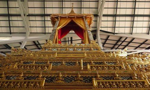 Zdjęcie TAJLANDIA / Bangkok / Muzeum Narodowe / powóz królewski