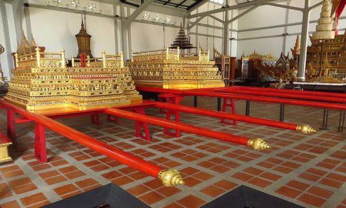 Zdjęcie TAJLANDIA / Bangkok / Muzeum Narodowe / królewski palankin