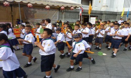 Zdjecie TAJLANDIA / Bangkok / Bangkok / Mundurek obowiązkowo