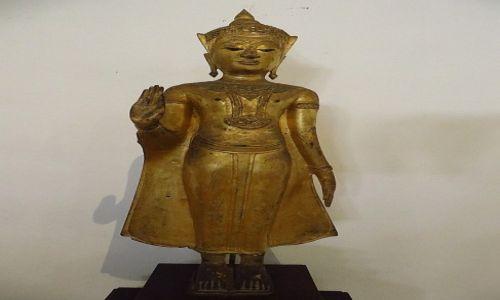 Zdjęcie TAJLANDIA / Bangkok / Muzeum Narodowe / Budda okres Ayutthaya
