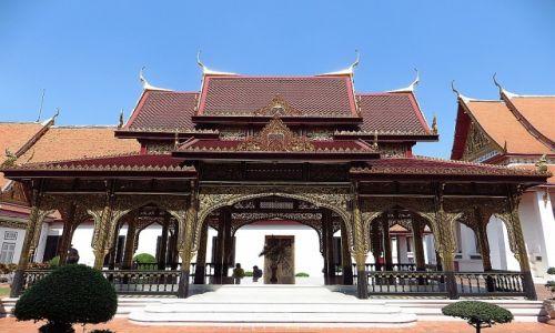 Zdjęcie TAJLANDIA / Bangkok / Muzeum Narodowe / Samranmukkhamat Pavilion