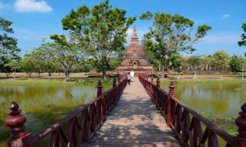 Zdjecie TAJLANDIA / Sukhothai / Sukhothai / Sukhothai