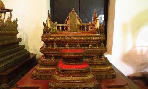 Zdjęcie TAJLANDIA / Bangkok / Muzeum Narodowe / tron