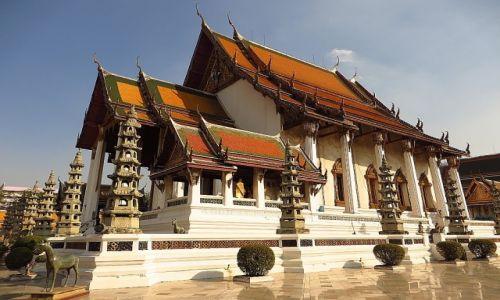 Zdjęcie TAJLANDIA / Bangkok / Bangkok / Wat Suthatthepwararan