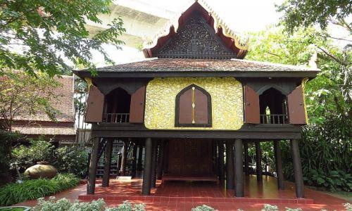 Zdjecie TAJLANDIA / Bangkok / pałac Suan Pakkad / Pawilon Lakowy