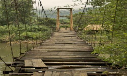 Zdjecie TAJLANDIA / Kanchanaburi / Rzeka Kwai / Most na rzece Kwai (lecz nie TEN)