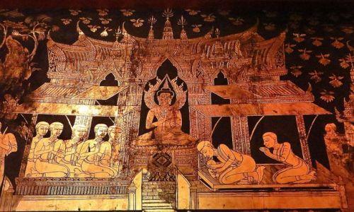 Zdjęcie TAJLANDIA / Bangkok / pałac Suan Pakkad / Pawilon Lakowy