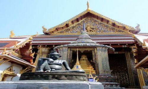 TAJLANDIA / Bangkok / Wat Phra Kaeo / Wielki Pałac