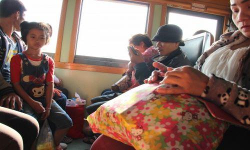 TAJLANDIA / Bangkok - Aranyaprahet / Pociąg Bangkok - Aranyaprahet / W pociągu do Kambodży