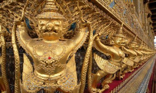 Zdjęcie TAJLANDIA / Bangkok / Wielki Pałac Królewski / Świątynia Szmaragdowego Buddy