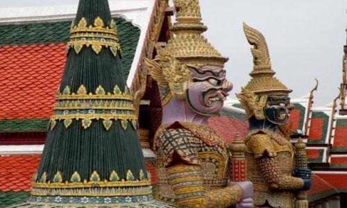 Zdjęcie TAJLANDIA / Bangkok / Bangkok / Wielki Pałac Królewski