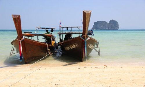 Zdjecie TAJLANDIA / Krabi / Koh Ngai / Tradycyjny tajlandzki obrazek ;)