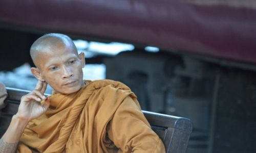 Zdjecie TAJLANDIA / Bangkok / Bangkok / Mnich