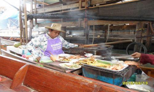 Zdjecie TAJLANDIA / - / Bangkok / floating market