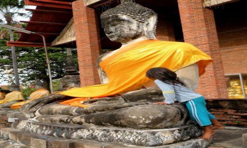 Zdjęcie TAJLANDIA / Ayutthaya / Ayutthaya / Wat Yai Chai Mongkol