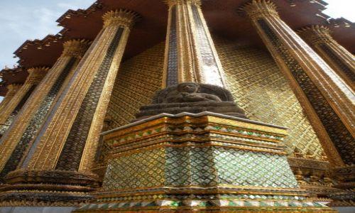 Zdjęcie TAJLANDIA / Bangkok / Wielki Pałac Królewski / Kopleks pałacowy