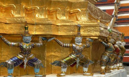 Zdjęcie TAJLANDIA / Bangkok / Wielki Pałac Królewski / Komplek pałącowy 2
