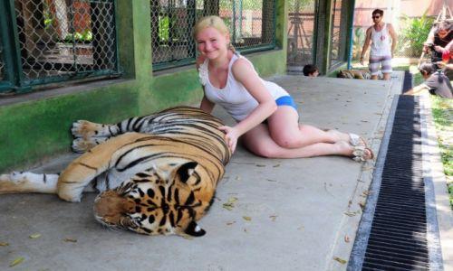 Zdj�cie TAJLANDIA / Prowincja Phuket / Phuket / Ona i Tygrys