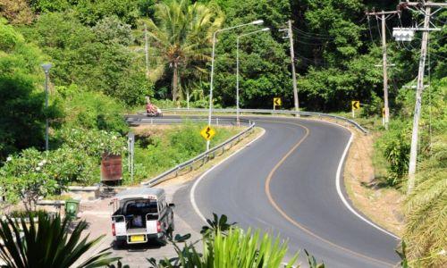 Zdjęcie TAJLANDIA / Prowincja Phuket / Phuket / Kręta dróżka...