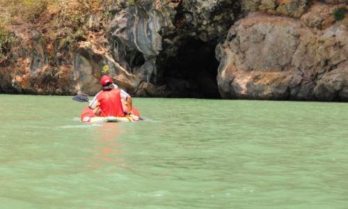 Zdj�cie TAJLANDIA / Prowincja Phuket / Phuket / Kajakiem  do jaskini Ma�p