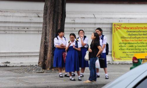 Zdj�cie TAJLANDIA / Prowincja Phuket / Phuket / Tajskie gimnazjalistki