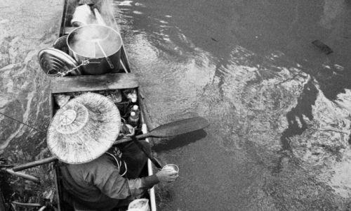 Zdjęcie TAJLANDIA / Pattaya / float market / wodny targ