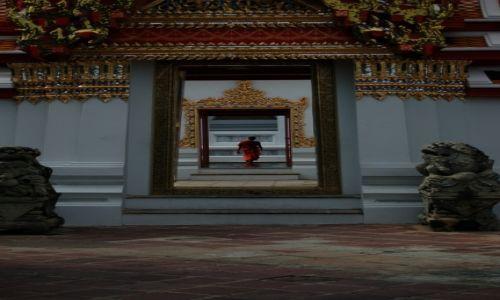 Zdjęcie TAJLANDIA / ---- / Bangkok / mnich
