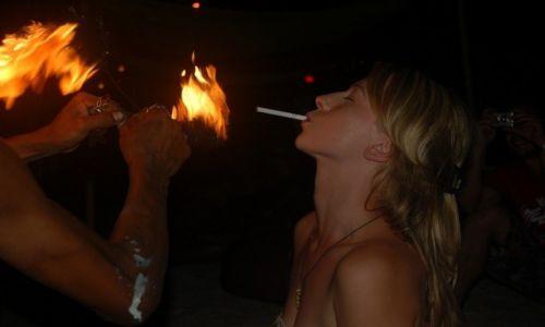 Zdjęcie TAJLANDIA / --- / Kho Tao / Taniec z ogniem