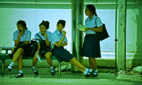 Zdjęcie TAJLANDIA / Bangkok / Bangkok / Po szkole