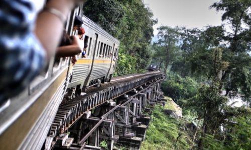 Zdjecie TAJLANDIA / Kanchanaburi / Most na rzece Kwai / W drodze