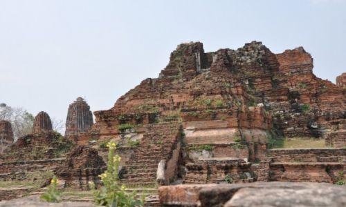 Zdjęcie TAJLANDIA / Ayutthaya / Ayutthaya / ruiny Ayutthaya